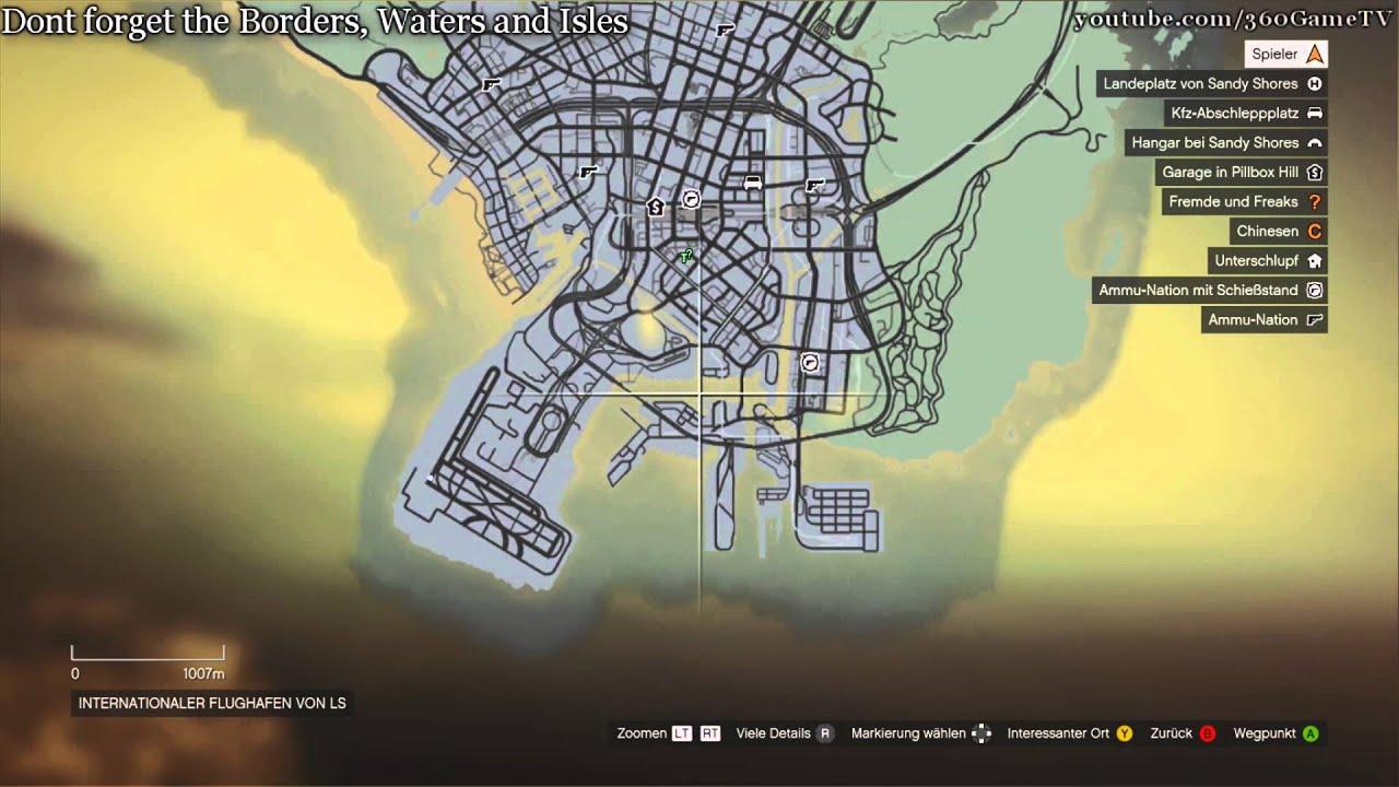 Gta 5 Karte Aufdecken
