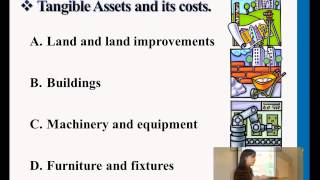 Tangible Assets & its Costs