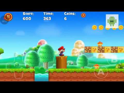 Super Jungle World of Mario Android GamePlay