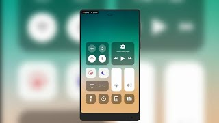 How To Get IOS 11 Control Center On Android Phone📱 Without Root (2K18)