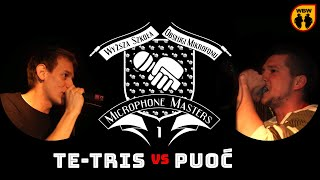 TE-TRIS vs PUOĆ @ Microphone Masters @ freestyle battle