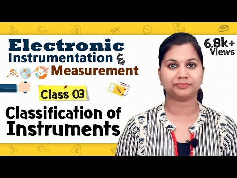 Classification of Instruments - Principles of Measurement - Electronic Instrumentation & Measurement