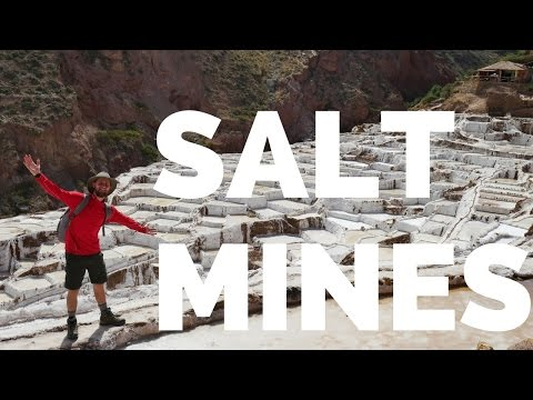 Amazing Salt Mines near Cusco Peru (Salines de Maras)