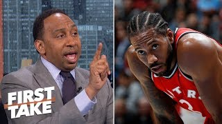 Kawhi Leonard wouldn't mesh with LeBron on the Lakers - Stephen A.  | First Take