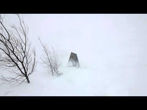8 horas de Sons da Natureza: Vento congelante do inverno