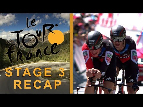Tour de France 2018: Stage 3 Recap I NBC Sports