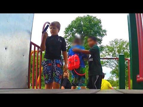 Kids find PISTOL