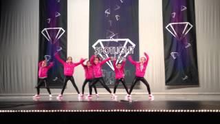 Dance Space Divas Hip-Hop performance 4/13/2013