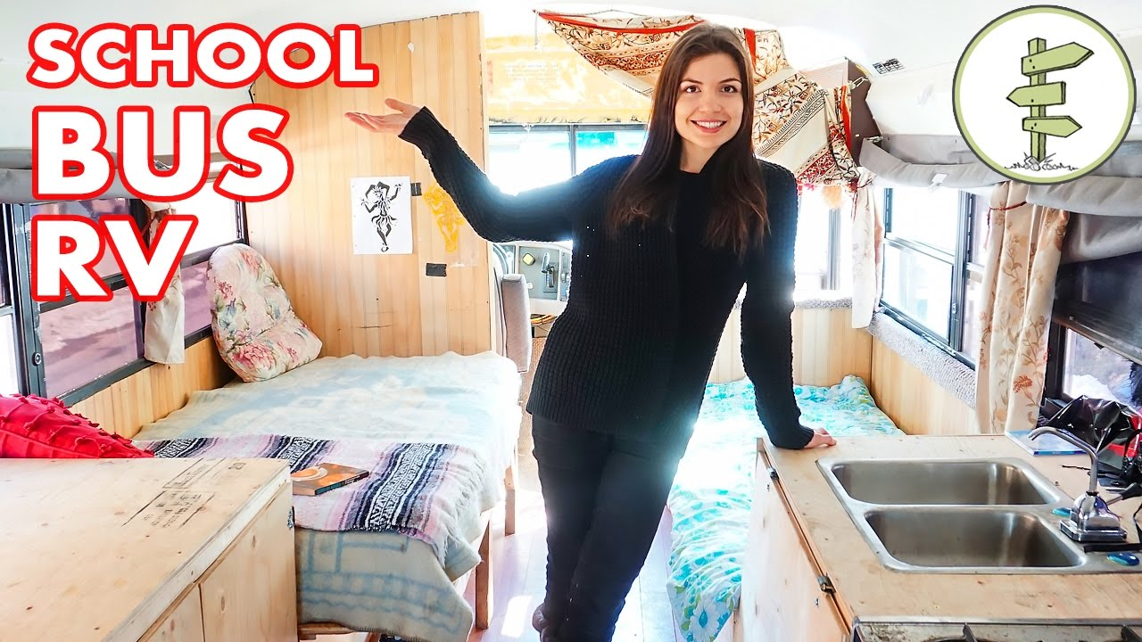 school-bus-conversion-into-tiny-mobile-home-that-runs-on-waste-vegetable-oil