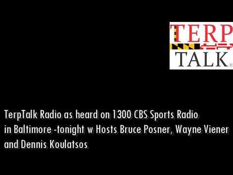 TerpTalk Radio 2018 05 24 on Maryland Lacrosse and Sports Maven