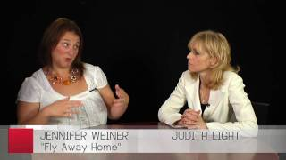 Jennifer Weiner and Judith Light discuss the audio book of Fly Away Home