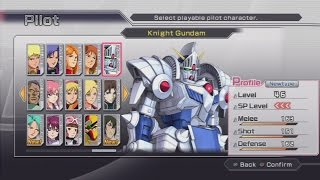 Dynasty Warriors: Gundam 3 All Pilots and Mobile Suits (Including DLC) [PS3]