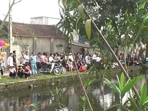 Hội Lim Tiên Du, Bắc Ninh 2013   Quan Họ Trên Thuyền