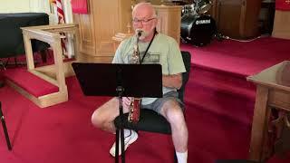 God Bless America   Alto Saxophone