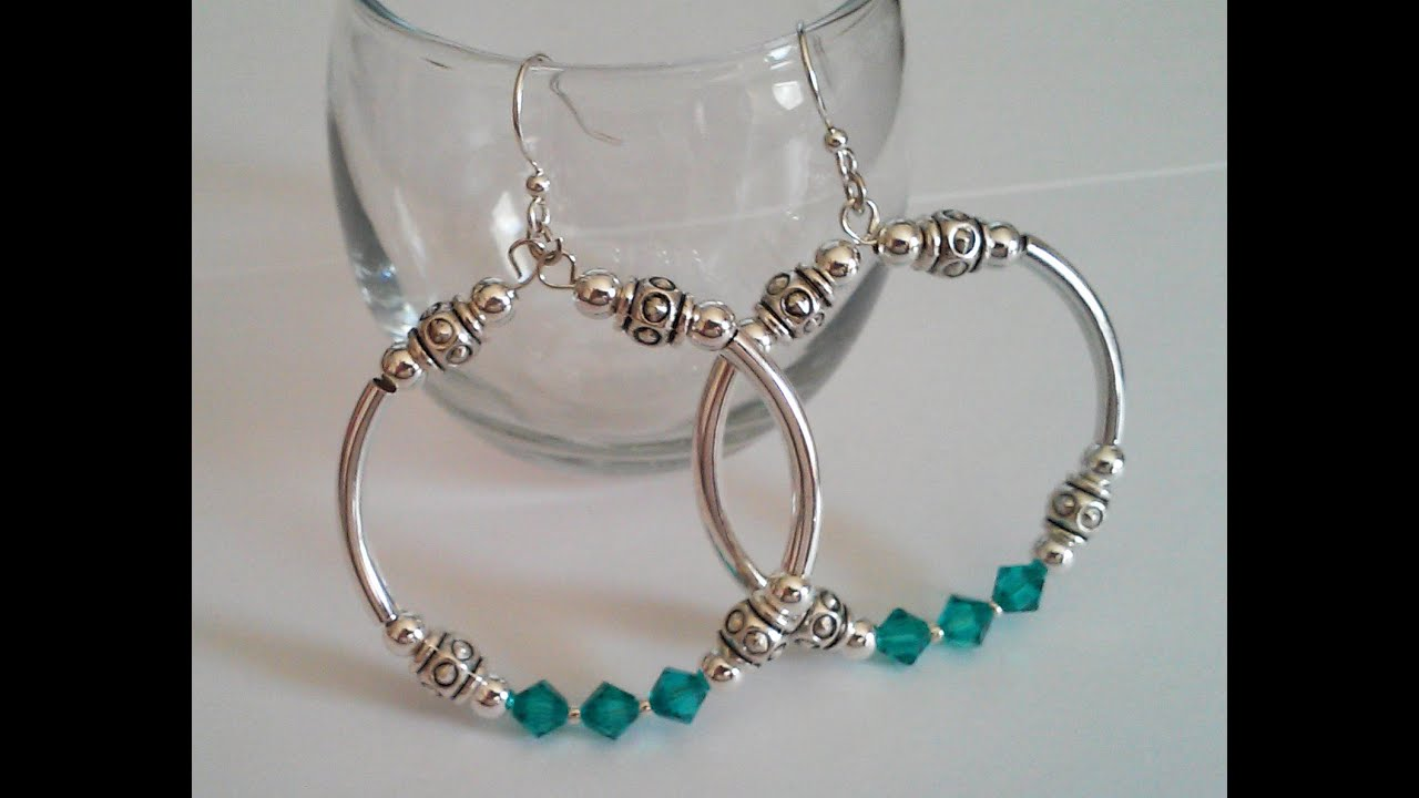 Jewelry Making Made Easy Bangle Bracelet Matching Earrings - YouTube