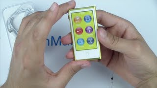 iPod Nano 7th Gen 2012 - معاينة وفتح صندوق اَيبود نانو السابع