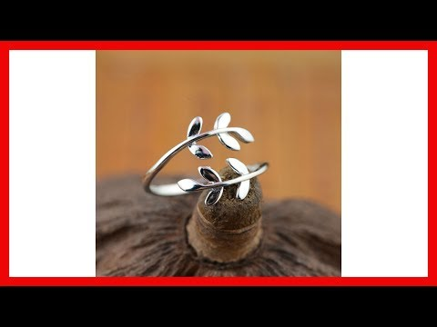 Cute Leaf Open rings  | Sterling Silver Jewelry | Wedding Gifts | Silver Jewelry