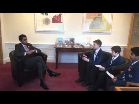 Interview with Humza Yousaf, MSP, Minister