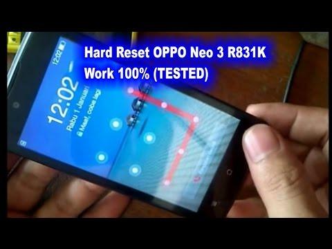 Cara Reset Oppo r831k Neo 3 100% Work