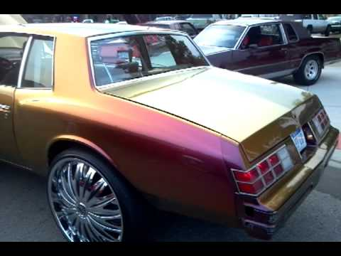 Chevy Monte Carlo >> Lo 79 Monte flippin on 26s animal planet inside - YouTube