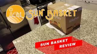 Sun Basket Unboxing \u0026 Review Vs Hello Fresh An Honest Review 2018