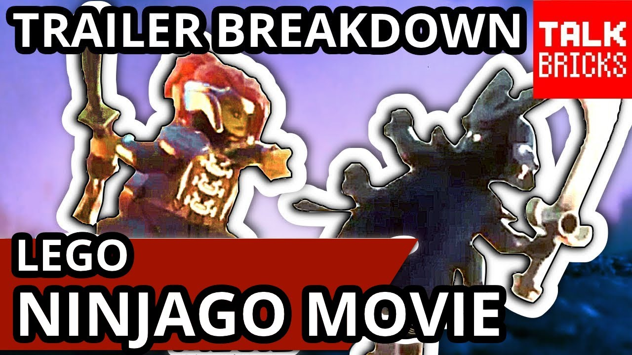 LEGO Ninjago Movie Family That Kicks Together Trailer