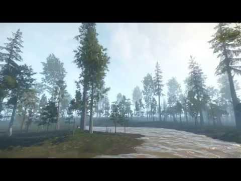 Dinosaur Battlegrounds : Hell Creek Environment Asset Test