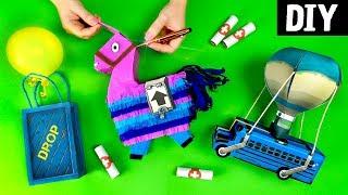 DIYs Fáceis e Baratos para Decorar sua festa 🎈🎉 Fortnite
