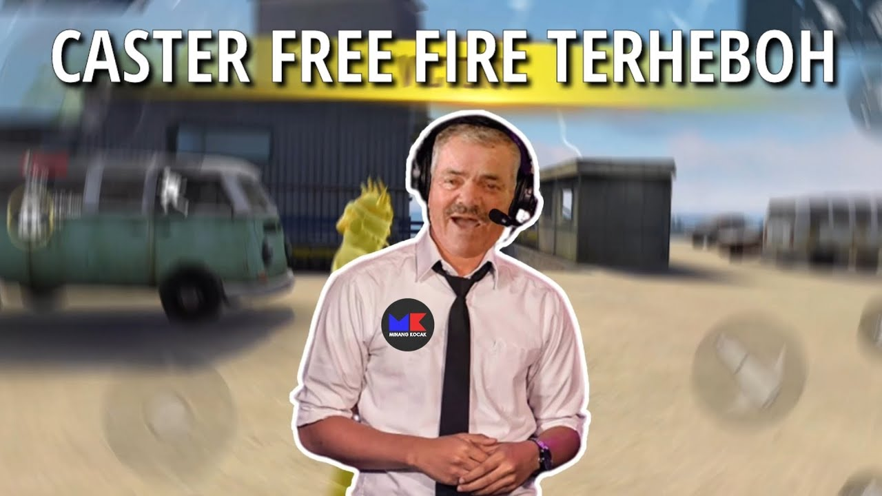 MINANG KOCAK JADI CASTER DI FREE FIRE