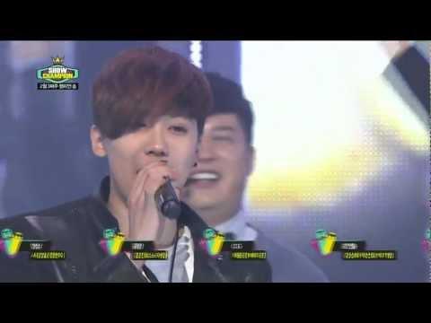 120221 FTISLAND Min Hwan singing Severely Show! Champion No.1 Encore