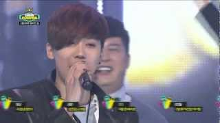 Cover images 120221 FTISLAND Min Hwan singing Severely Show! Champion No.1 Encore