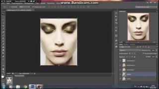 Анимация Урок шума - в программе фотошоп фильтор DSB Flux - BrightNoise