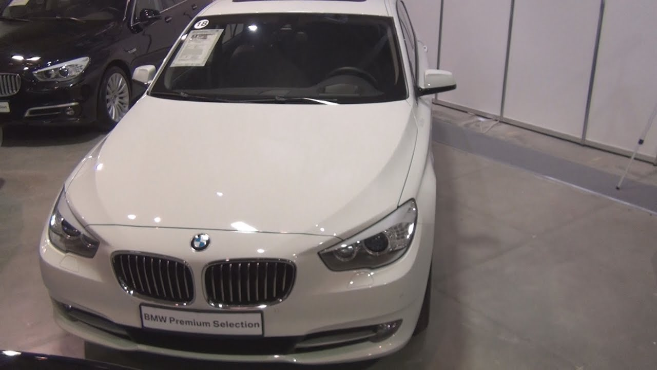 BMW D XDrive Gran Turismo White Exterior And Interior In - 2013 bmw 535d