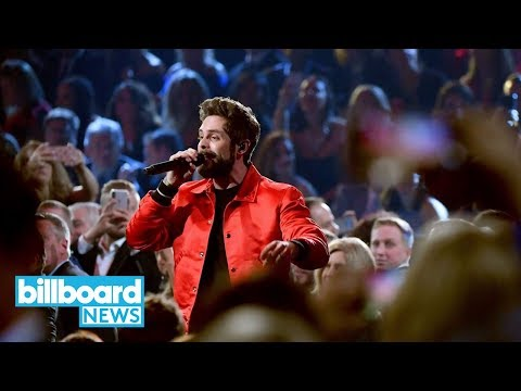 "Thomas Rhett Performs ""Life Changes"" At 2018 CMA Awards With Full Brass Band 