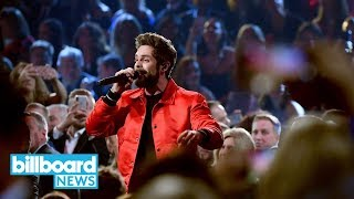 """Thomas Rhett Performs """"Life Changes"""" at 2018 CMA Awards With Full Brass Band 