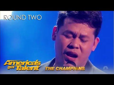 Marcelito Pomoy: Philippines Winner SHOCKS America on @America's Got Talent Champions!