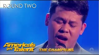 Marcelito Pomoy: Philippines Winner SHOCKS America on @America's Got Talent Champions!