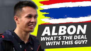 What is going on with Alexander Albon?