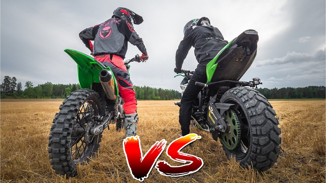 DIRTBIKE VS  STREETBIKE 2 0