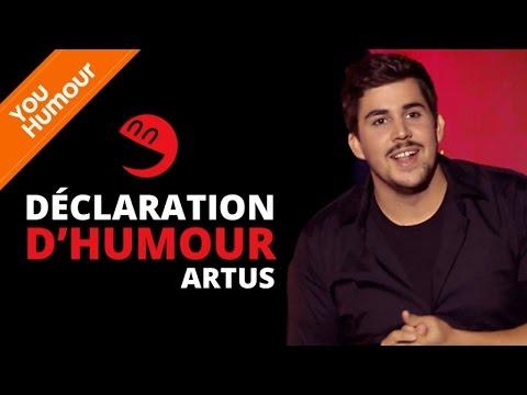 ARTUS- Déclaration d'humour