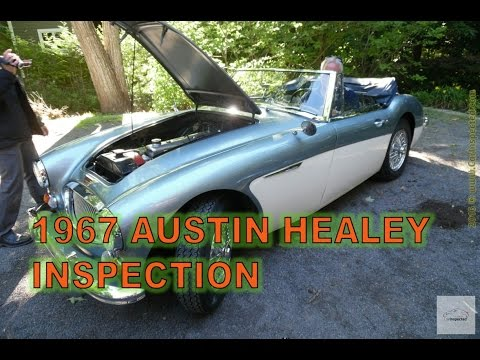 1967 Austin Healey 3000 Pre Purchase by Car Inspected (1/4)