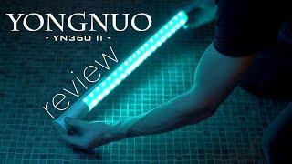 YONGNUO YN360 II REVIEW - BEST & CHEAPEST RGB LED light panel - RGB, Daylight, Tungsten