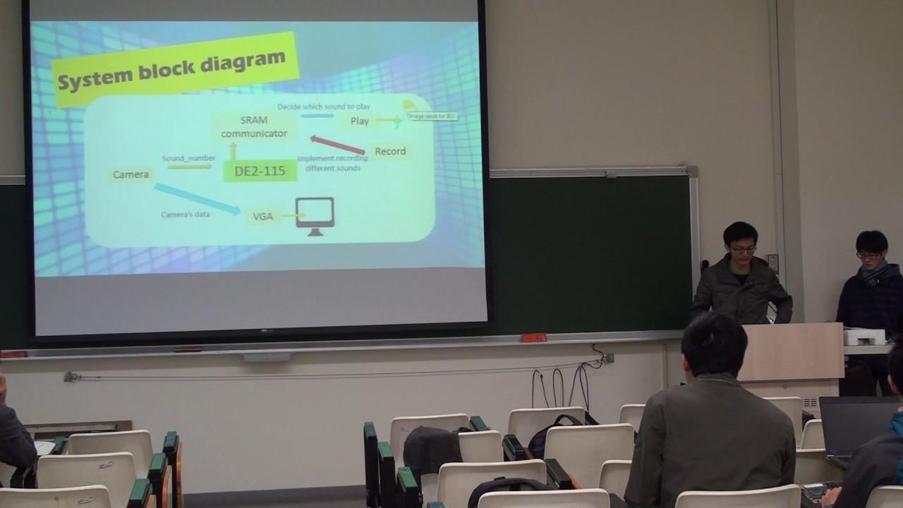 國立臺灣大學電機系數位電路實驗 2016 秋季班期末作品 Team 01 - YouTube