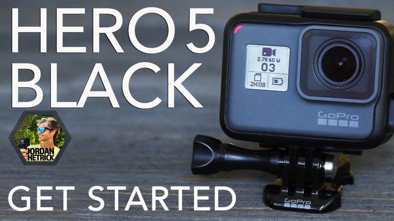 gopro hero 5 black tutorial how to get started youtube