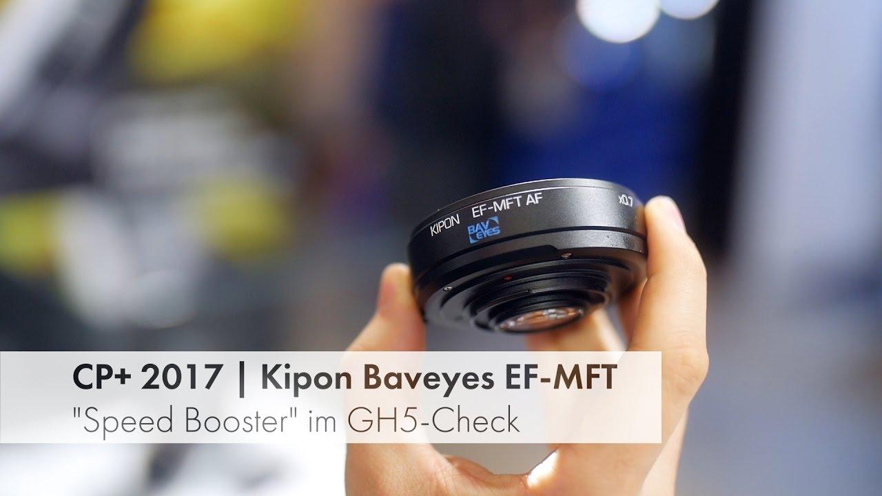 Download Kipon Baveyes vs. Metabones Speed Booster: Kurztest an der Lumix GH5