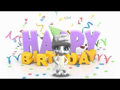 Zoobe зайка - день рождения :) - Как поздравить с Днем Рождения