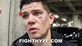 "LUKE CAMPBELL IMMEDIATE REACTION TO RYAN GARCIA KNOCKOUT LOSS: ""I'M HEARTBROKEN"""
