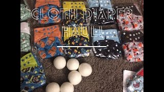 One Size Cloth Diaper Haul!! Toddler edition