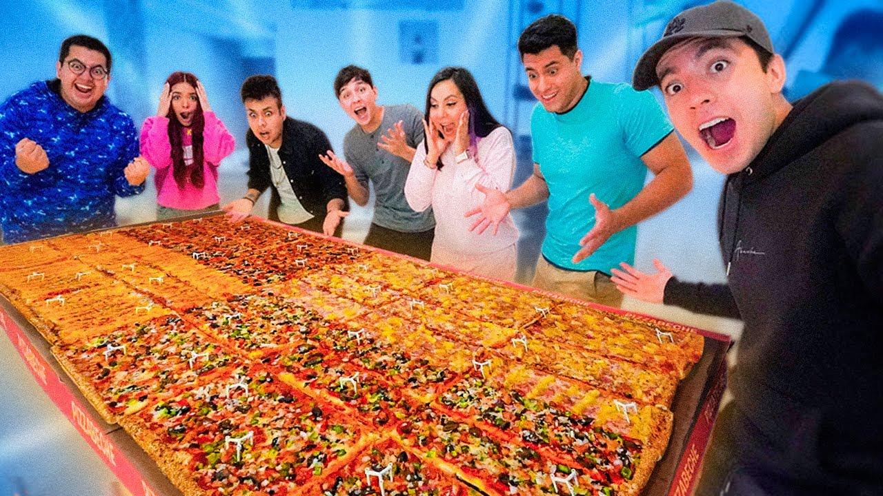 HICIMOS LA PIZZA MÁS GRANDE DEL MUNDO