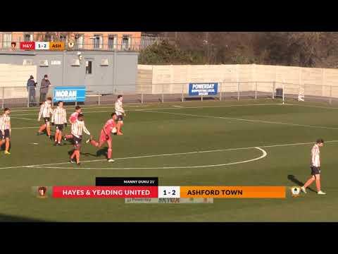 Hayes & Yeading v Ashford Town (Middx) - 24th Feb 2018